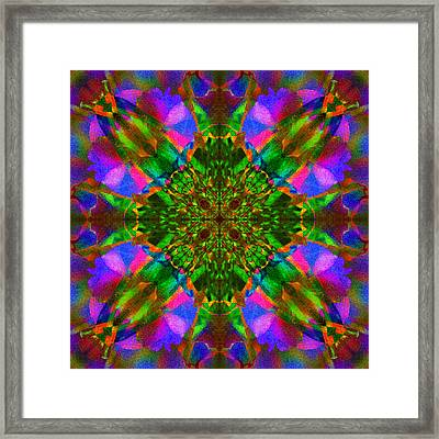 Flower Abstract 4 Framed Print by Mike McGlothlen