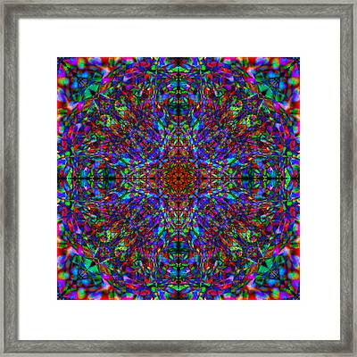 Flower Abstract 7 Framed Print by Mike McGlothlen