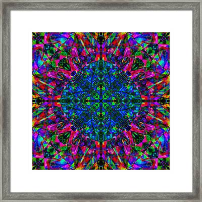 Flower Abstract 9 Framed Print by Mike McGlothlen