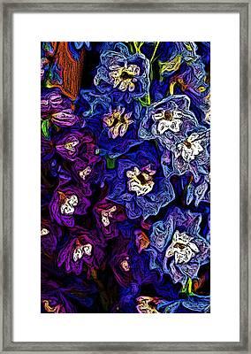 Flower Arrangement II Framed Print by David Lane