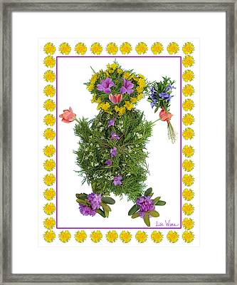 Flower Baby Framed Print by Lise Winne