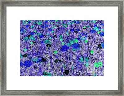 Flower Background Framed Print by Patricia Hofmeester