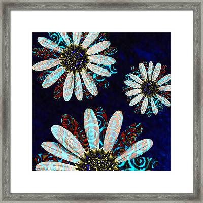 Flower Blessings  Framed Print
