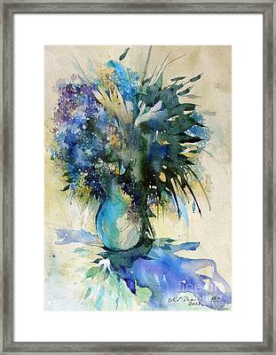 Flower Bouqet Framed Print
