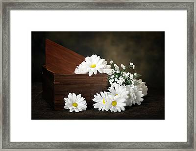Flower Box Framed Print by Tom Mc Nemar