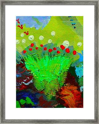 Flower Buds Detail From The Fairy Queen Framed Print
