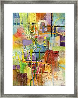 Flower Dance Framed Print by Hailey E Herrera