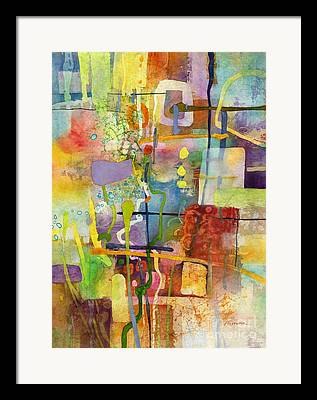Gray Pastel Flames Framed Prints