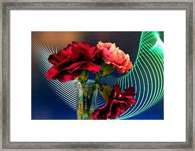 Flower Decor Framed Print