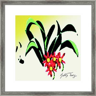 Flower Design #2 Framed Print