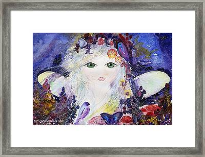 Flower Fairy Framed Print