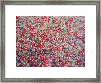 Flower Feelings. Framed Print