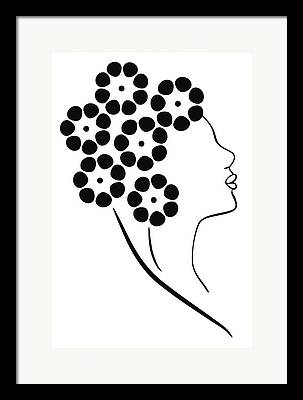 Fashion Sketches Framed Prints