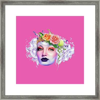 Flower Girl T-shirt Framed Print