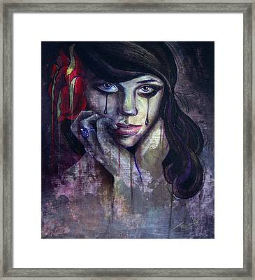 Flower Girl Framed Print by Matt Truiano