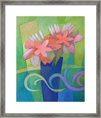 Flower Harmony Framed Print by Lutz Baar
