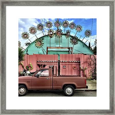 Flower House Framed Print