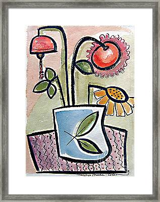 Flower Jug Framed Print