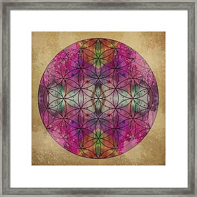 Flower Of Life Framed Print