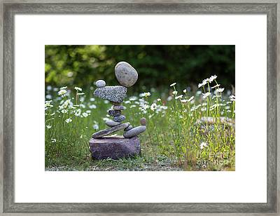 Flower Of Love. Framed Print