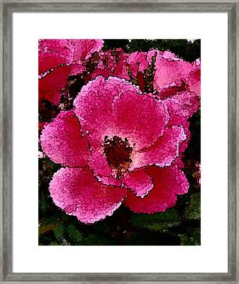 Flower Painting Collection 19 Framed Print