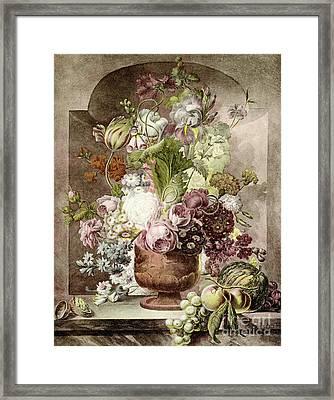 Flower Painting Framed Print