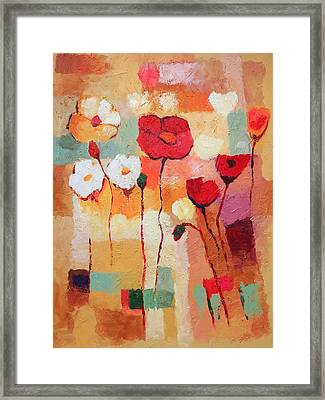 Flower Parade Framed Print by Lutz Baar