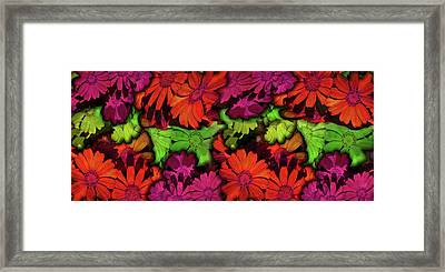 Flower Path Framed Print by Efrat Fass