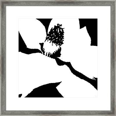 Flower Pistil Framed Print