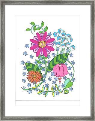 Flower Power 3 Framed Print