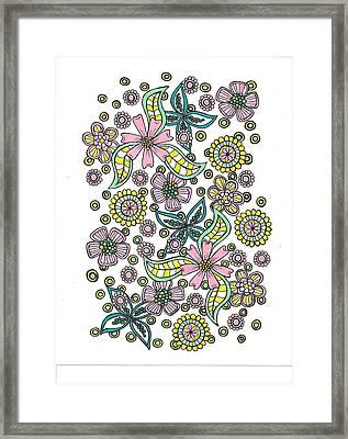 Flower Power 5 Framed Print