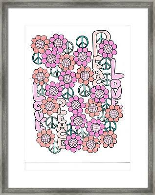 Flower Power 8 Framed Print