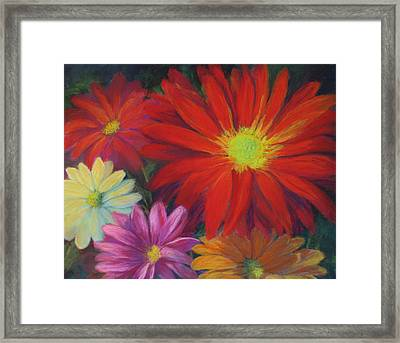 Flower Power Framed Print by Vikki Bouffard