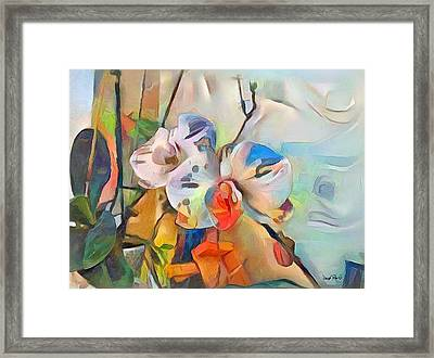 Flower Power Framed Print by Wayne Pascall