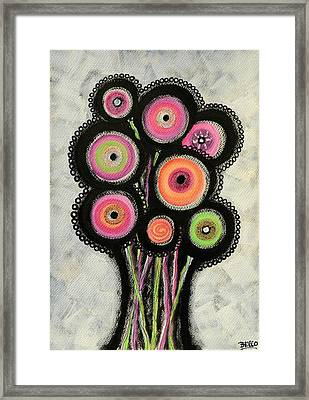 Flower Series 1 Framed Print