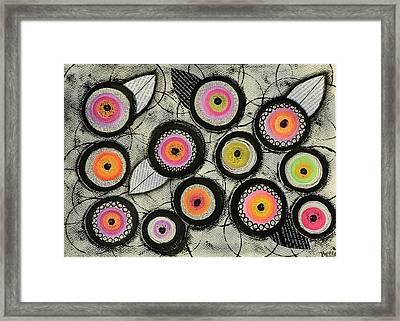 Flower Series 2 Framed Print