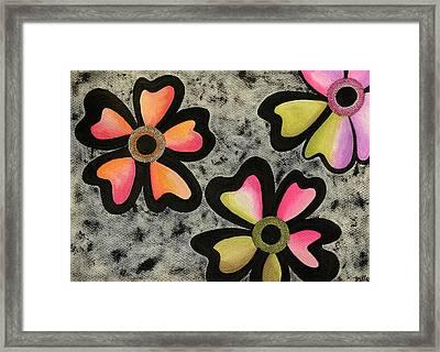 Flower Series 3 Framed Print
