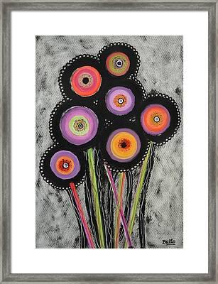 Flower Series 6 Framed Print