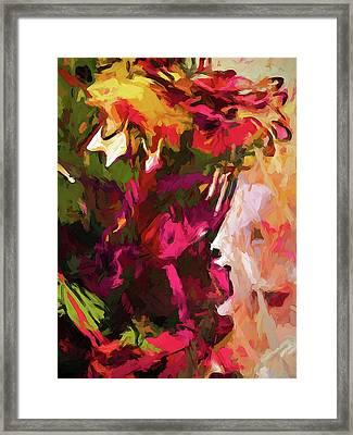 Flower Splash Framed Print
