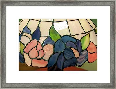 Framed Print featuring the photograph Flower Stained Glass  by Chris Flees