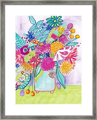 Flower Still Life Framed Print