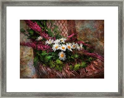 Flower - Still - Seat Reserved Framed Print