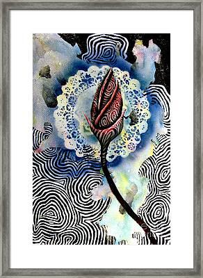 Flower Study 1 Framed Print by Luke Galutia
