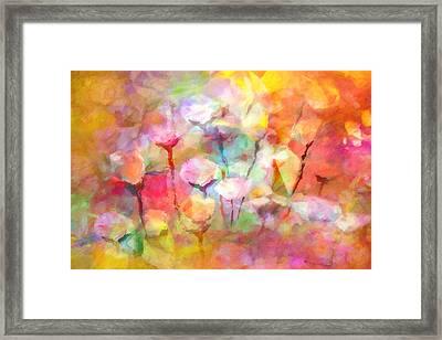 Flower Symphony Framed Print by Lutz Baar