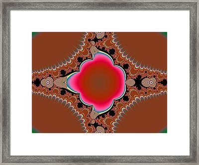 Flower Framed Print by Thomas Smith