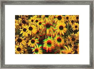Flower Trip Framed Print
