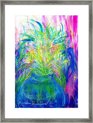 Flower Vase. Framed Print