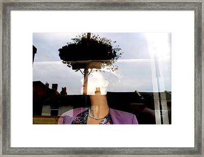 Flowered Liz Framed Print by Jez C Self