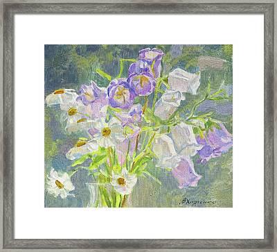 Flowering In July Framed Print