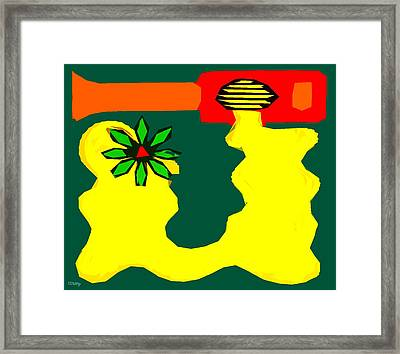 Flowering Melody 2 Framed Print by Patrick J Murphy